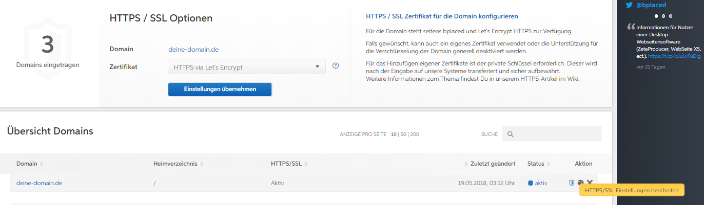 bplaced Wiki - Hilfe & Support :: HTTPS / SSL