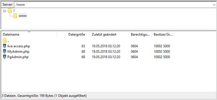 bplaced Wiki - Hilfe & Support :: Verzeichnisstruktur