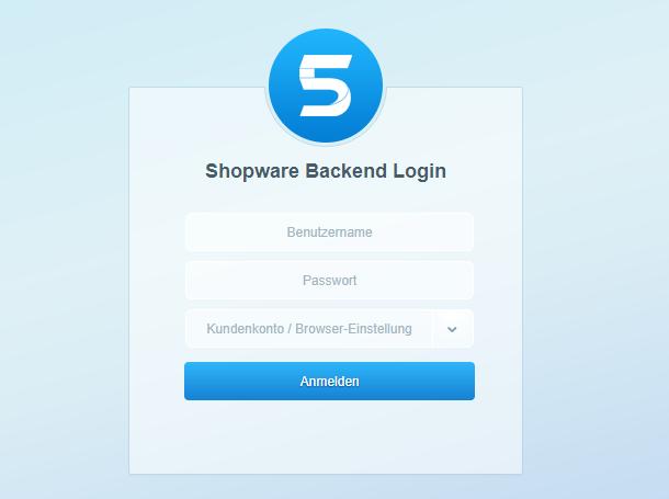 bplaced Wiki - Hilfe & Support :: Shopware First Run